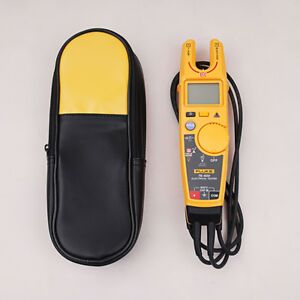 Fluke T6 600 Clamp Meter Electrical Tester Non contact Meter With Carring Case