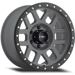 20x9 Gray Method Grid Wheels 8x180 18 Fits Chevrolet Silverado 2500 Hd