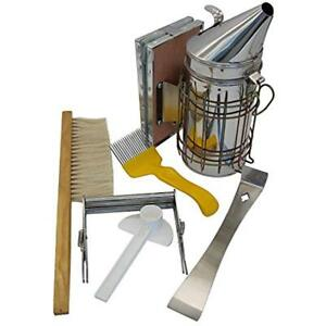 Blisstime Beekeeping Tool Kit Set 6 Hive Smoker Brsuh Accessory bee Keeping