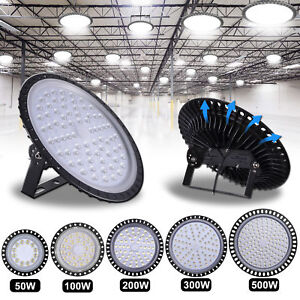 500w 300w 200w 100w 50w Led Ufo High Low Bay Light Factory Warehouse Lighting