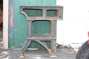 Qty 5 Vintage Cast Iron Lathe Legs Stand Bench Table Industrial Machine