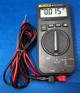 Fluke 16 Digital Multimeter Used Tested Working Free Shipping