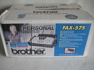 New Brother Fax 575 Personal Fax Phone And Copier