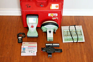 Leica Gs15 Performance Gps Gnss Glonass Rtk Vrs Survey Kit W Cs15 Smartworx