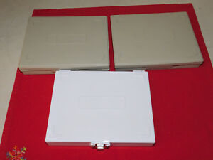 Three Microscope Slide Storage Boxes For 100 Slides each