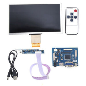 7 Inch Lcd 1024 600 For Raspberry Pi Hdmi vga video Av Driver Board lcd Screen