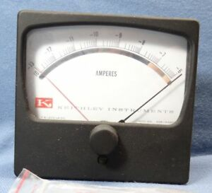 Keithley Instruments 461c Amperes Panel Meter Fs 200 Ua Dc 428 144br5