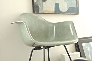 Eames Provenance1949 1st Yr Zenith Arm Shell Rope Edge Domes Of Silence Seafoam