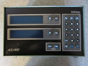 Acu rite 2 axis Mill Mate Digital Readout dro For Parts Only