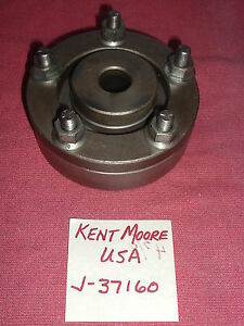 Kent Moore J 37160 Brake Lathe Rotor Adapter For 1 Lathe Arbor Usa Made