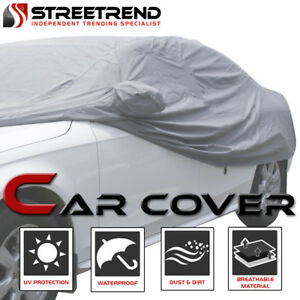 4 Layer 100 Waterproof All Weather Car Cover W mirror Pocket 4700mm For Vw