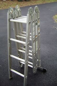 Werner M8 16 Heavy Duty Aluminum Folding Ladder