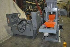 210 Ton Amd 4 post Hydraulic Automatic Bar Shear With Tooling Up To 2