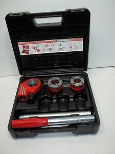 Rothenberger ratchet Pipe Threader Kit New With Case