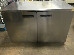 Delfield Uc4048 2 Door Undercounter Reach in Refrigerator Works Great