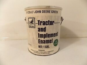 New Tisco John Deere Jd Green Tractor And Implement Tp 210 lf 1 Gallon Can