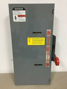 Siemens Nf351dtk 30 Amp 600 Volt Double Throw Transfer Switch