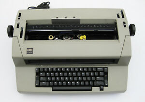 Vintage Ibm Selectric Iii Correcting Typewriter Tan