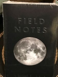Field Notes Brand Lunacy Edition Sealed 3 pack Memo Notebooks Pads Fall 2016