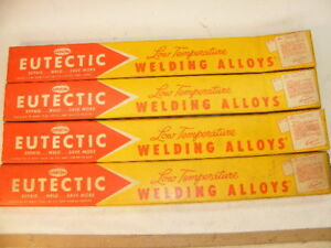 Castolin Eutectic Low Temperature Welding Alloy Aluminum Copper Steel Overlays
