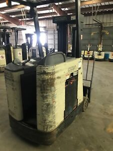 Crown Electric Forklift Counterbalance Dock Stocker