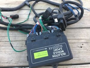 Western Fisher Snow Plow Wiring Harness Complete