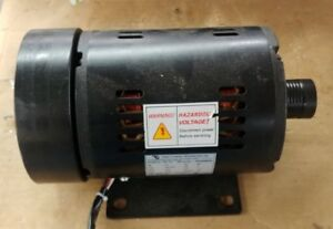 Treadmill Motor 2 Hp 1 5 Kw 220v 3 Phase 60hz Double Ended Shaft