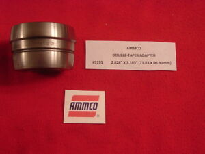 Ammco 9195 Double Taper Adapter 4000 4100 Brake Lathe 2 828 X 3 185 1 Arbor