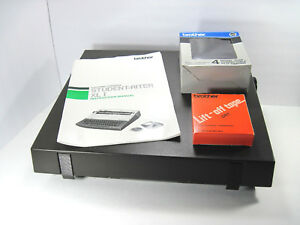 Vintage Brother Ce 25 Student Riter Xl I Electric Typewriter Accessories Tested