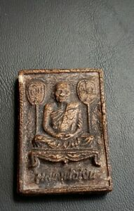 Old Thai Buddhist Temple Amulet