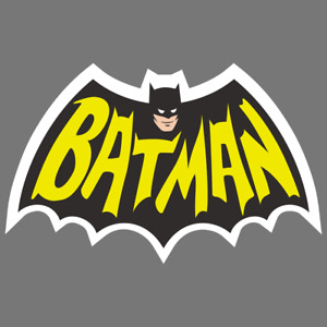 Batman Vinyl Sticker Car Truck Window Decal Comic Book Superhero Collectible
