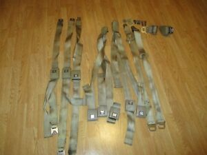 1968 Gm Seat Belts Pontiac Gto Chevy Buick Chevelle