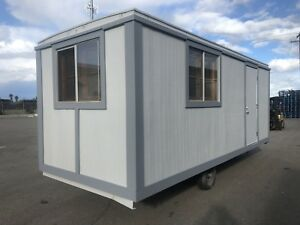 Office construction Trailer Wired For Hydroponics New Paint Tires