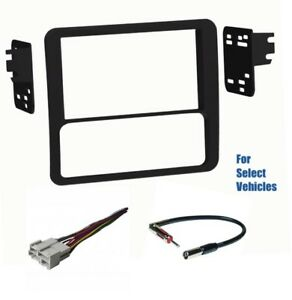 Double Din Car Radio Dash Kit Combo For 98 01 Chevrolet Blazer Gmc Jimmy Sonoma