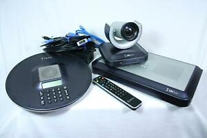 Lifesize Room 220 Hd Video Conference Lfz 012 Complete System Cables Power Exlnt