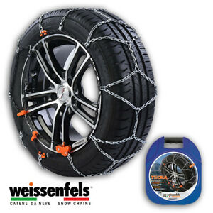 Snow Chains Weissenfels M30 Tecna Gr 3 9mm 165 50 R15 165 50 15