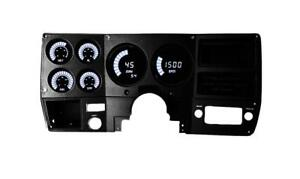 Intellitronix Chevy Truck 73 87 Led Digital Bargragh Gauge Panel White