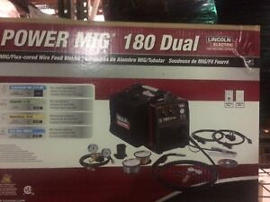 Lincoln K3018 2 Power Mig 180 Dual Mig Welder
