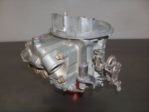 Holley 500 Cfm Spec 2 Barrel Carburetor 4412 2 Carb Racing Core W qc Bowl