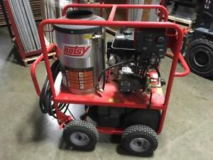 Used Hotsy Gas diesel 4gpm 3500psi Hot Water Pressure Washer 308 Hours