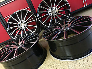 Mercedes 18 Inch C63 Black Edt New Rims Wheels Fits All C250 C300 C350 C Amg