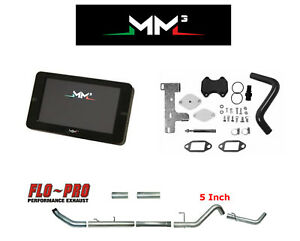 Mm3 Tuner 5 Ram For Cummins Custom Tunes 2013 18 Dodge Dpf Egr Def Delete Kit