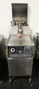 Henny Penny 500 Electric Deep Fat Pressure Fryer Chicken W Filter System 220v 3o