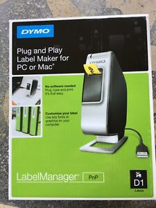 Dymo Label Manager Plug And Play Label Maker For Pc Or Mac D1 Brand New In Box