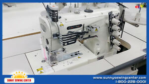 Kansai Special Nw 8803 gmg Industrial Coverstitch Sewing Machine Japan New