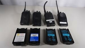 Kenwood Portable Two Way Radio Uhf 4 Units Tk 2160 Tk 3360 Tk 3160 X2