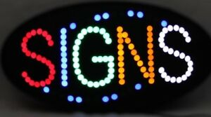 Led Neon Sign Store Sign Business Sign Window Sign With Signs Display