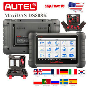 Autel Maxidas Ds808k Obd2 Car Scanner Analysis System Diagnostic Kit Than Ds708