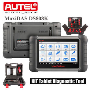 Autel Maxidas Ds808k Obd2 Code Scanner Car Diagnostic Tool Upgraded Of Ds708 Us