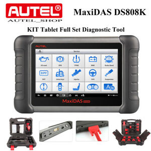 Autel Maxidas Ds808k Key Coding Analysis System Obd2 Diagnostic Than Ds708 Ds808